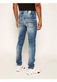 Tommy Jeans Jeansy DM0DM06879 Granatowy Skinny Fit. Kolor: niebieski