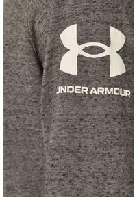 Szara bluza nierozpinana Under Armour z kapturem, melanż