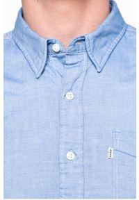 Niebieska koszula Levi's® biznesowa, na co dzień