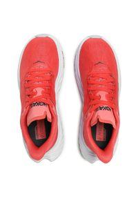 Pomarańczowe buty do biegania Hoka One One