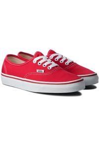 Vans - Tenisówki VANS - Authentic VN000EE3RED Red. Kolor: czerwony. Materiał: materiał. Model: Vans Authentic