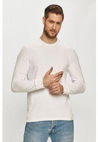 Only & Sons - Bluza bawełniana. Okazja: na co dzień. Kolor: biały. Materiał: bawełna. Wzór: gładki. Styl: casual