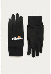 Ellesse - Rękawiczki. Kolor: czarny. Materiał: dzianina