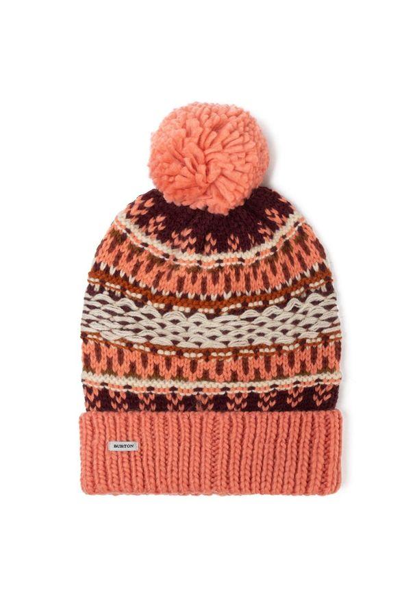 Pomarańczowa czapka Burton