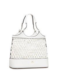 Biała torebka klasyczna Marella skórzana