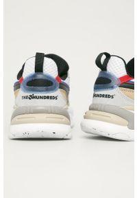 Wielokolorowe sneakersy Puma z cholewką, na sznurówki, z okrągłym noskiem