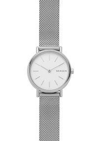 Skagen - Zegarek SKW2692. Kolor: srebrny. Materiał: materiał