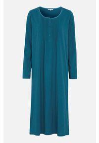 Cellbes Koszula nocna z długim rękawem Morski female niebieski 54/56. Kolor: niebieski. Materiał: koronka. Długość: długie. Wzór: koronka