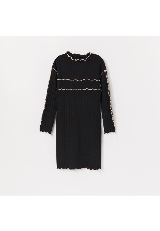 Szara sukienka Reserved