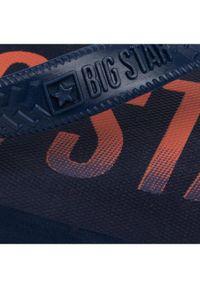 Big-Star - BIG STAR Japonki FF174468 Granatowy. Kolor: niebieski