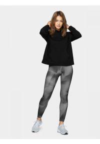 Wielokolorowe spodnie sportowe outhorn z nadrukiem, do kostek