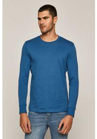 Niebieska koszulka z długim rękawem medicine