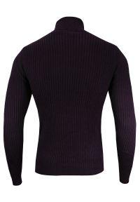 Sweter Brave Soul na zimę, z golfem, klasyczny