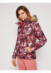 Kurtka sportowa Roxy narciarska, w kolorowe wzory