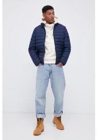 Premium by Jack&Jones - Bluza bawełniana. Okazja: na co dzień. Typ kołnierza: kaptur. Kolor: beżowy. Materiał: bawełna. Styl: casual