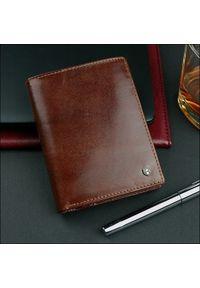 Brązowy portfel ROVICKY