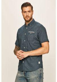 Niebieska koszula Tom Tailor Denim button down, na co dzień