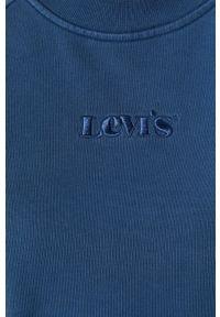 Niebieska sukienka Levi's® mini, raglanowy rękaw