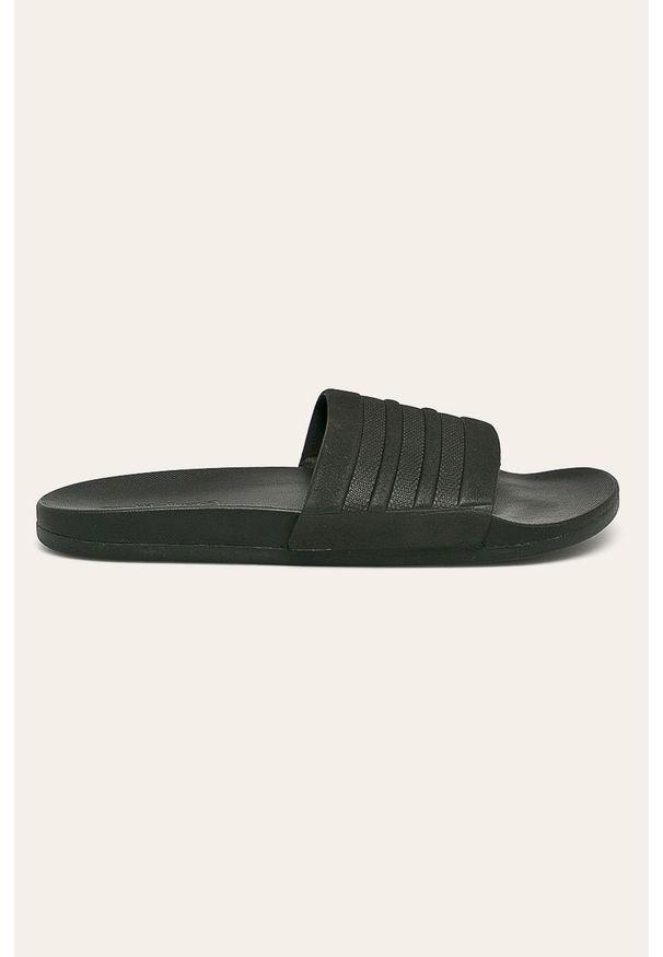 Czarne klapki adidas Performance