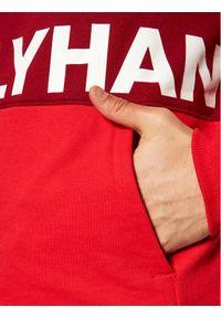 Helly Hansen Bluza Active Hoodie 53427 Bordowy Regular Fit. Kolor: czerwony