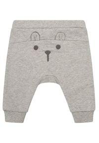 Primigi Spodnie dresowe Easy Wear Boy 45126002 Szary Regular Fit. Kolor: szary. Materiał: dresówka