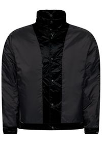 Rains Kurtka puchowa Unisex 1534 Czarny Regular Fit. Kolor: czarny. Materiał: puch