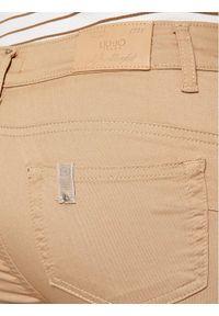 Liu Jo Jeansy WA1061 T7144 Brązowy Slim Fit. Kolor: brązowy