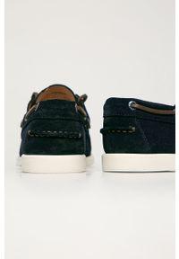 vagabond - Vagabond - Mokasyny zamszowe Scott. Nosek buta: okrągły. Kolor: niebieski. Materiał: zamsz #3