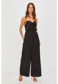 Czarne spodnie materiałowe Miss Sixty klasyczne, z podwyższonym stanem
