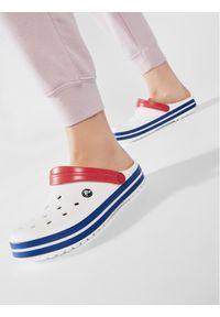 Crocs Klapki Crocband 11016 Biały. Kolor: biały
