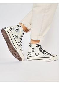 Beżowe trampki Converse