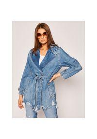 Niebieska kurtka jeansowa Liu Jo