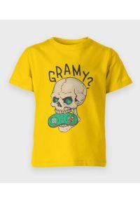 MegaKoszulki - Koszulka dziecięca Gramy?. Materiał: bawełna