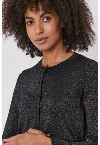 Pennyblack - Sweter. Okazja: na co dzień. Kolor: czarny. Materiał: dzianina. Długość rękawa: długi rękaw. Długość: długie. Styl: casual