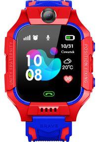 Smartwatch GoGPS K24 Niebieski (K24RD). Rodzaj zegarka: smartwatch. Kolor: niebieski