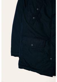 Niebieska kurtka Polo Ralph Lauren casualowa, na co dzień, z kapturem