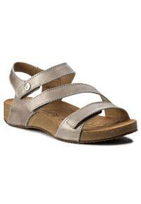Srebrne sandały Josef Seibel