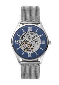 Skagen - Zegarek SKW6733. Kolor: srebrny. Materiał: materiał