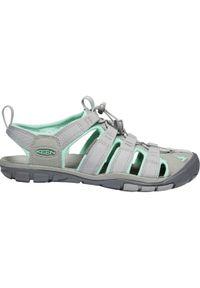 Szare sandały sportowe keen w kolorowe wzory