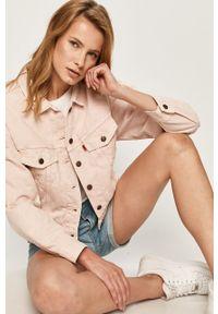 Różowa kurtka Levi's® bez kaptura, w kolorowe wzory