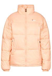 Różowa kurtka zimowa Fila