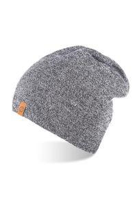 Szara czapka BRODRENE sportowa, z aplikacjami