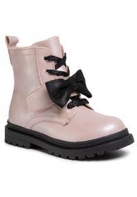 Lasocki Kids - Trapery LASOCKI KIDS - CI12-POINT-02 Pink. Okazja: na spacer. Kolor: różowy. Materiał: skóra. Sezon: zima, jesień