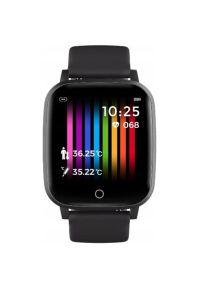 Szary zegarek Bemi smartwatch, sportowy