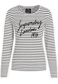 Biała bluzka Superdry