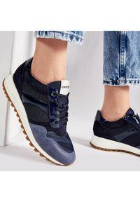 Geox Sneakersy D Tabelya A D15AQA 02214 C4264 Granatowy. Kolor: niebieski