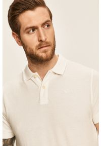 Biała koszulka polo Pepe Jeans polo, krótka