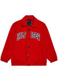 Czerwona kurtka przejściowa TOMMY HILFIGER