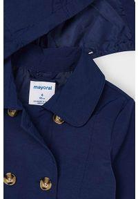 Niebieski płaszcz Mayoral casualowy, na co dzień #4