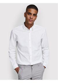 Jack & Jones - Jack&Jones Koszula Summer 12163855 Biały Slim Fit. Kolor: biały